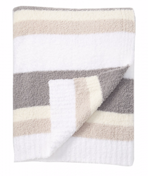Barefoot Dreams CozyChic Multi-Stripe Throw
