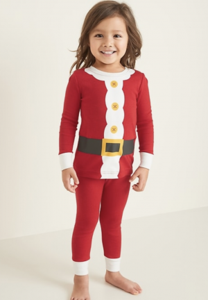 Santa Suit PJs for Baby and Toddler