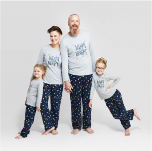 Family Pajamas from Target